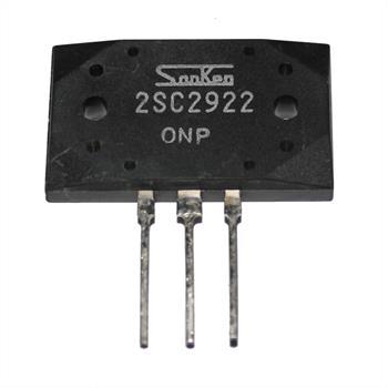 Transistor 2SC2922 ; 200W 180V 17A ; Sanken
