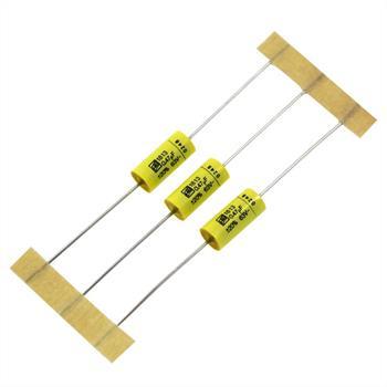 MKT-Kondensator axial 0,47µF 63V DC ; 6x13mm ; MKT1813447066R ; 470nF
