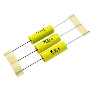 MKT-Kondens. ax. 2,2µF 250VDC 13x31,5mm