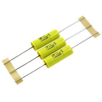 MKT-Kondensator axial 0,33µF 400V DC ; 9x25mm ; MKT1813433405R ; 330nF