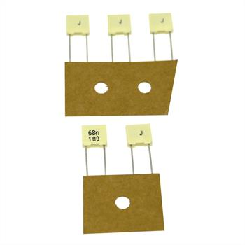MKT-Capacitor rad. 68nF 100V DC ; 5mm ; R82EC2680DQ60J ; 68000pF