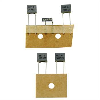 MKT Folien Kondensator Radial 0,01µF 100V DC Arcotronics R82EC21001305M 10nF