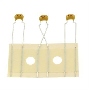 Ceramic Capacitor rad. 33nF 100V DC ; C322C333K1R5CA-C7303 ; 33000pF