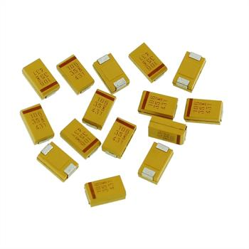 Tantal Kondensator SMD 10µF 35V 125°C ; Gr. D ; T491D106K035AS ; 10uF
