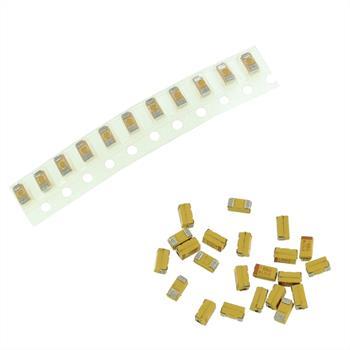 Tantal Kondensator SMD 10µF 10V 125°C ; Gr. A ; TAJA106M010R ; 10uF