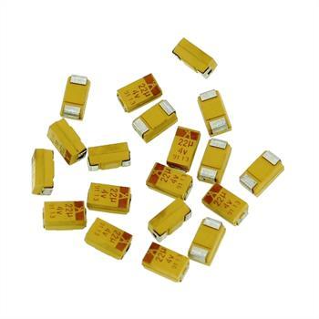 Tantalum Capacitor SMD 22µF 4V 125°C ; Size C ; TAJC226M004R ; 22uF