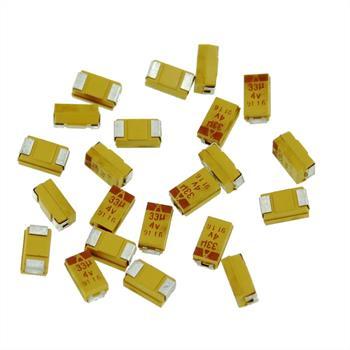 Tantalum Capacitor SMD 33µF 4V 125°C ; Size C ; TAJC336M004R ; 33uF