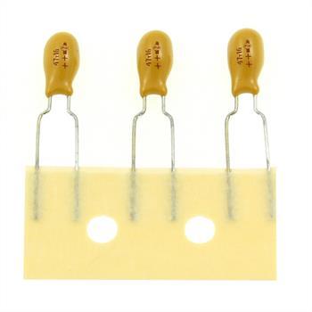 Tantal Kondensator radial 47µF 16V ; RM5 ; 489D476X0016F6A ; 47uF