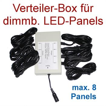Multi-Dimmer-Box for up to 8 LED-Panels