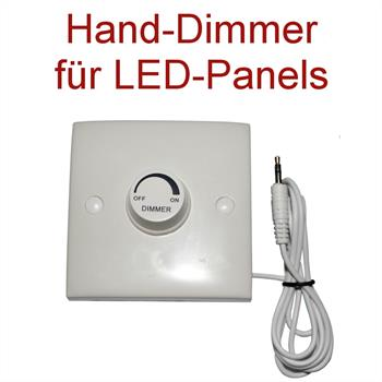 Manueller Dimmer für LED-Panels