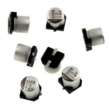 SMD-Elko 10µF 16V 85°C 4x4,5mm