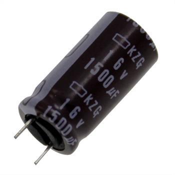 Elko rad. 1500µF 16V 105°C RM3,5 10x20mm
