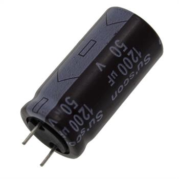 Elko Kondensator Radial 1200µF 50V 85°C HF050M122J32CAR d16x32mm 1200uF