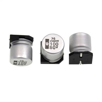 SMD-Elko 100µF 80V 105°C 12,5x13,5mm