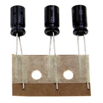 Elko rad. 2,2µF 100V 105°C RM3 6,8x12,5mm
