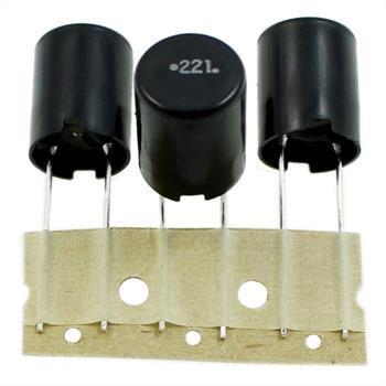 Drossel radial 220µH 1,3A ; RM7,5 d13x17mm ; LHL13TB221K ; 220uH