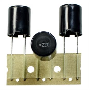 Drossel radial 22µH 3,4A ; RM5 d13x17mm ; LHL13TB220K ; 22uH