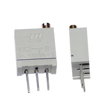 Potentiometer stehend 0-500R ; 10x10x5mm 500mW ; 67WR500LF