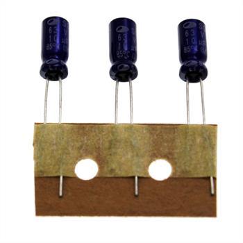 Elko Kondensator radial 10µF 63V 85°C ; SG1J106M05011PC380 ; 10uF