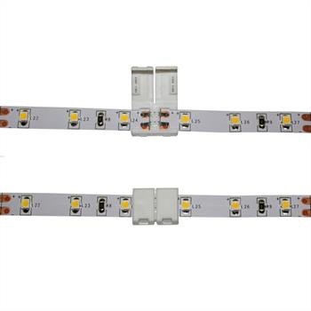 Verbinder / Connector für LED-Streifen 8mm ; 1 Clip