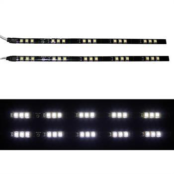 2x30cm Xenon LED Tagfahrlicht SMD5050