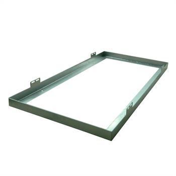 Rahmen für LED-Panels 60x30cm ; Aufbaurahmen ; Deckenmontage / Wandmontage
