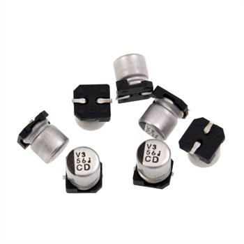 SMD Elko Kondensator 56µF 6,3V 105°C ; UCD0J560MCL1GS ; 56uF