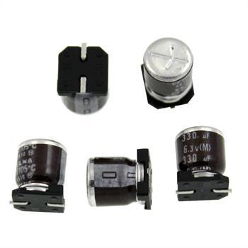 SMD Elko Kondensator 330µF 6,3V 105°C ; RVH6V331MG10UR ; 330uF