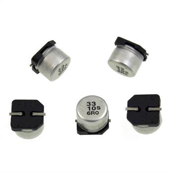 SMD Elko Kondensator 33µF 10V 85°C ; ECEV1AA330NP ; 33uF