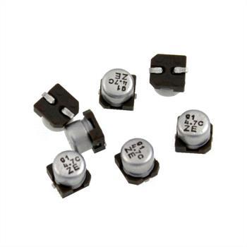 SMD Elko Kondensator 4,7µF 16V 85°C ; UZE1C4R7MCR1GB ; 4,7uF