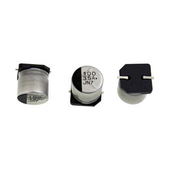 SMD Elko Kondensator 100µF 35V 85°C ; EEE1VA101P ; 100uF