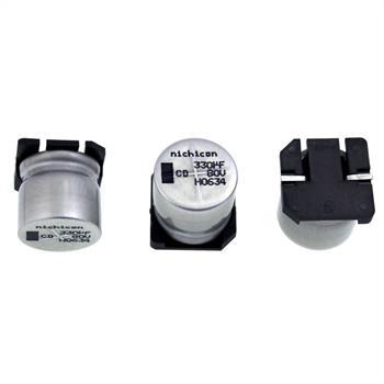 SMD-Elko 330µF 80V 105°C 17x17mm