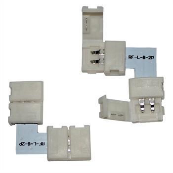 """LED Verbinder 8mm - """"L"""" Profil"""