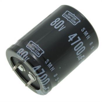 Snap-In Elko 4700µF 80V 85°C 30x40mm