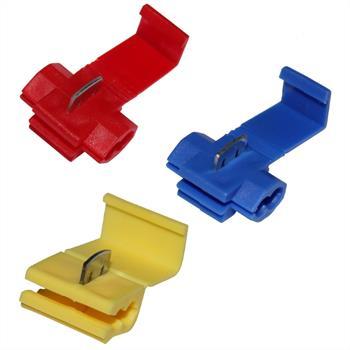 Abzweigverbinder Stromdieb Schnellverbinder 0,5-1,5mm² / 1,5-2,5mm² / 4-6mm²