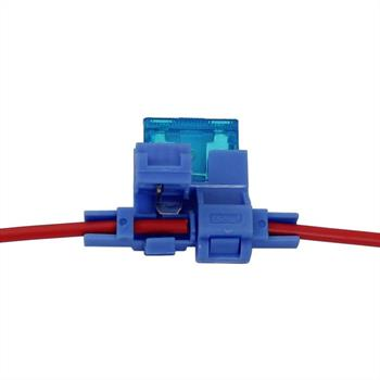 KFZ Sicherungshalter ; Auto Sicherungshalter ; Kabel-Querschnitt: 2,5mm²