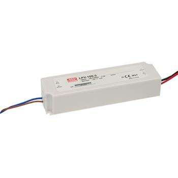 LED power supply 100W 24V 4,2A ; MeanWell, LPV-100-24 ; Switching power supply