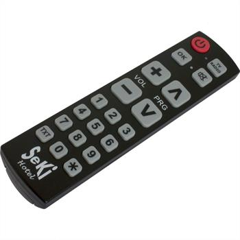 Programmable remote control for hotels / pensions / guest rooms ; SeKi Hotel