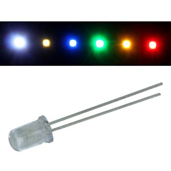Superhelle LEDs 5mm (VPE=50)