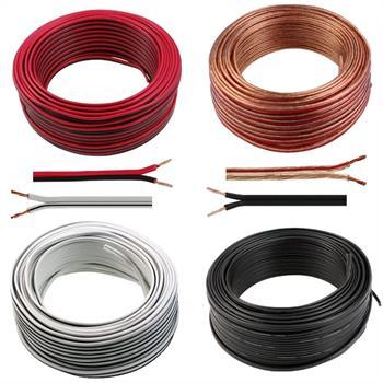 Lautsprecherkabel 0,5mm² ; CCA ; 50m-Ring