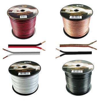 Loud Speaker Audio Cable 100m - 2x1,5mm² - 100% CCA Copper