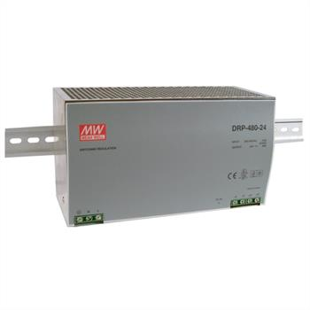 Din-Rail power supply 480W 24V 20A ; MeanWell, DRP-480-24