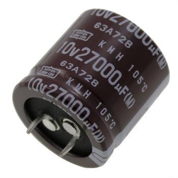 Snap-In Elko Kondensator 27000µF 10V 105°C EKMH100VNN273MR30S ; 27000uF