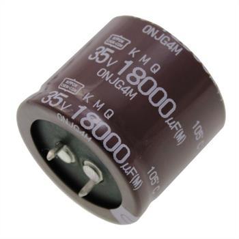 Snap-In Elko Kondensator 18000µF 35V 105°C EKMQ350VSN183MA30S ; 18000uF