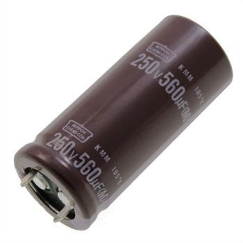 Snap-In Elko 560µF 250V 105°C 22x50mm
