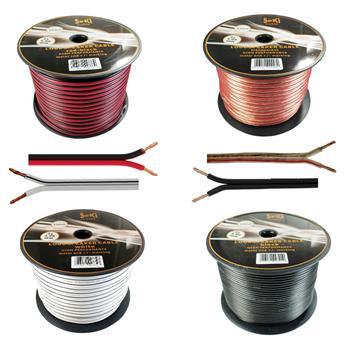 Loud Speaker Audio Cable 100m - 2x4mm² - 100% CCA Copper