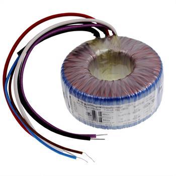 Ringkerntrafo 100VA 230V -> 2x12V 1x24V , Sedlbauer. RSO-826026