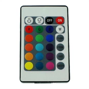 RGB LED IR Controller Wireless + 24Key Remote Control 72W 12V 6A