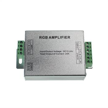 RGB LED Signal Verstärker Power Amplifier 288W 12V / 576W 24V - 24A