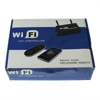 RGB LED WLAN WiFi Controller steuerbar über Handy iPhone / IOS / Android + FB